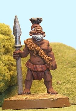 A Pygmy Chief Stands Ready